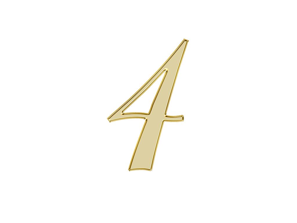 エンジェルナンバー『4』が示す意味やメッセージとは?