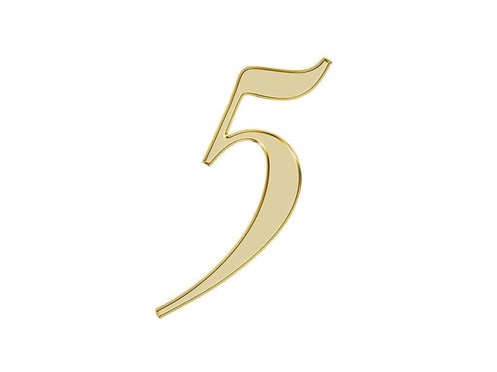 エンジェル ナンバー『5』が示す意味やメッセージは?