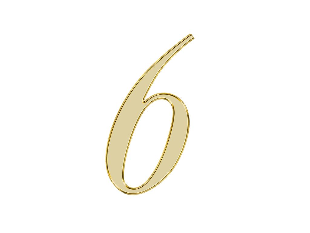 エンジェルナンバー【6】が表す意味やメッセージとは?