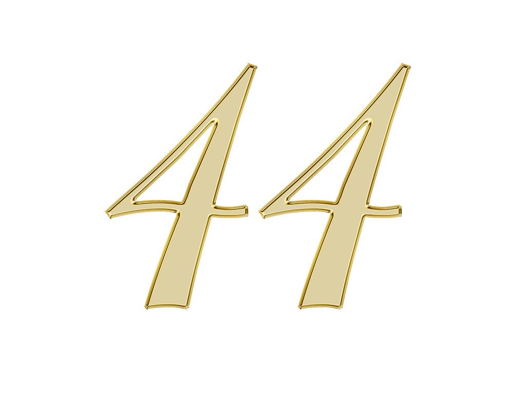 エンジェルナンバー 44