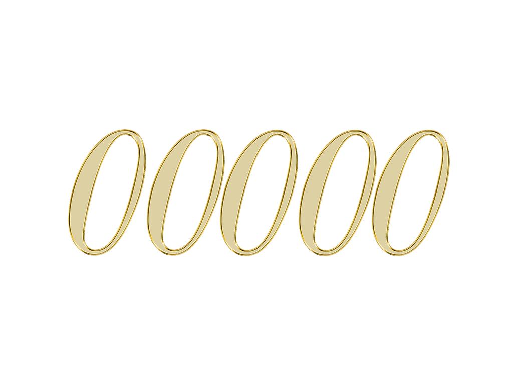 エンジェルナンバー 00000