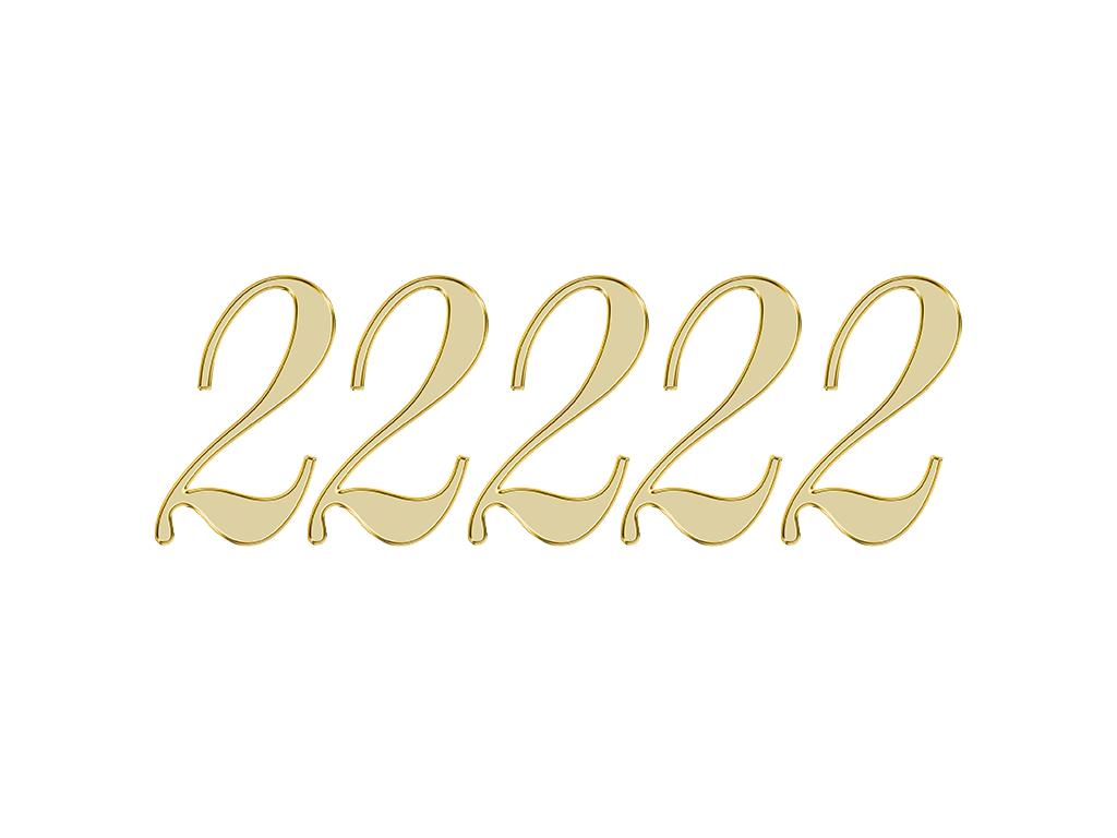 エンジェルナンバー 22222