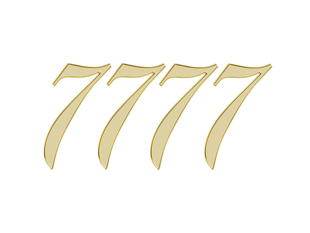 エンジェルナンバー 7777