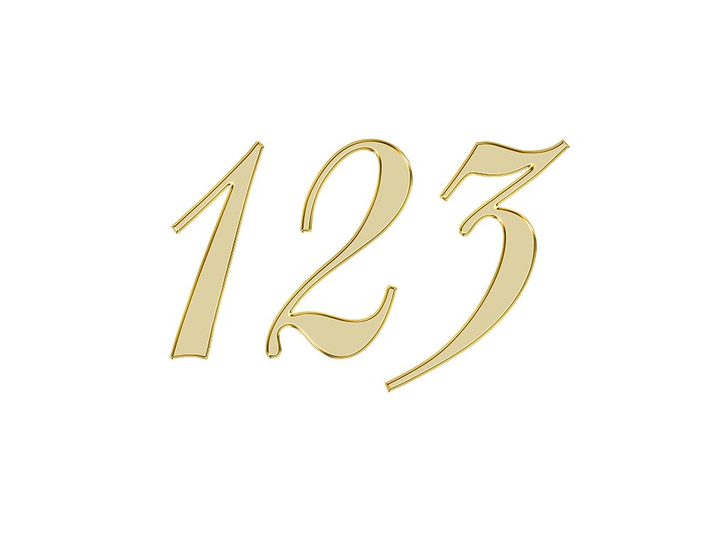 エンジェルナンバー 123