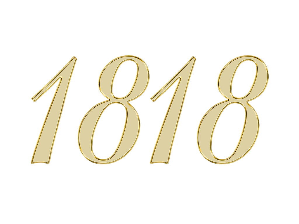 1818 エンジェルナンバー