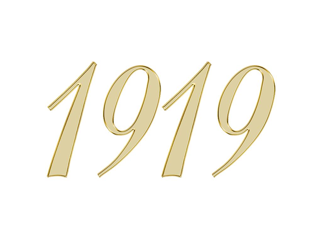 1919 エンジェルナンバー