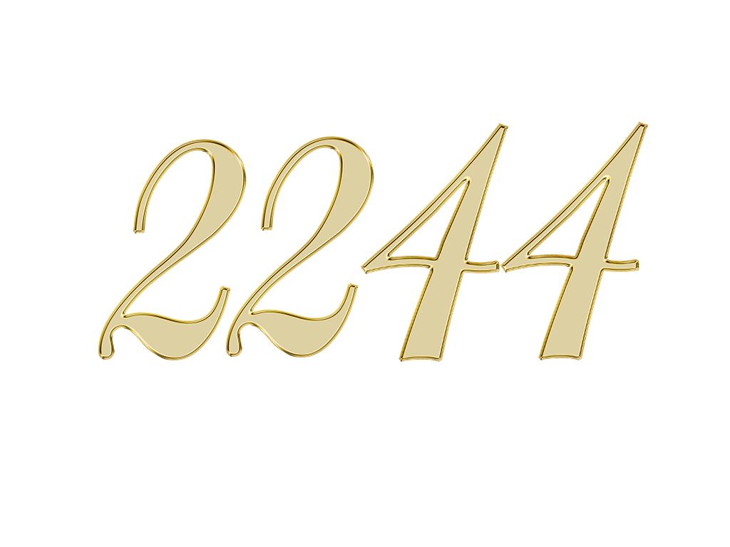 2244 エンジェルナンバー
