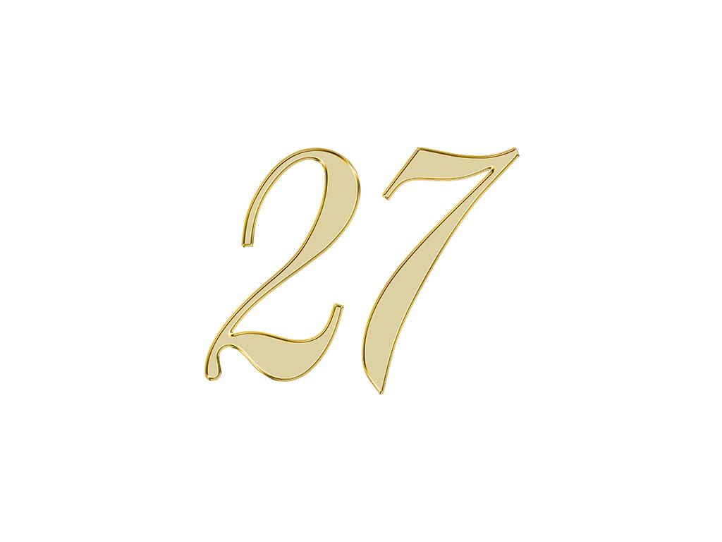 エンジェルナンバー 27