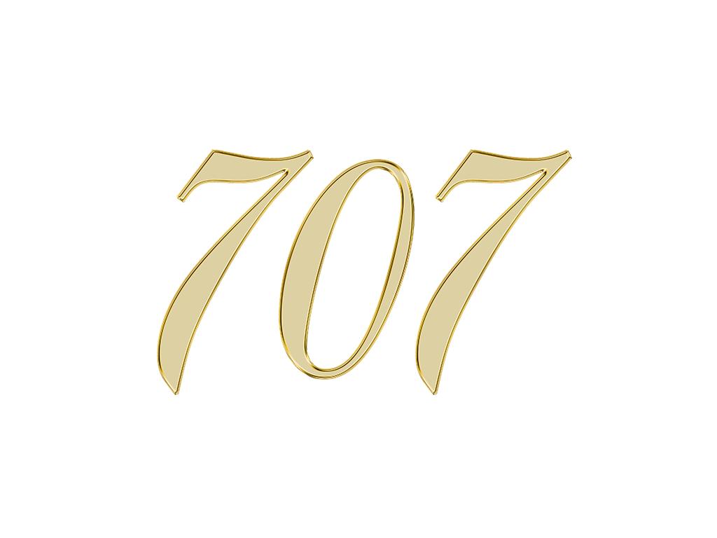 707 エンジェルナンバー