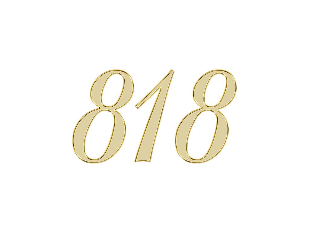 818 エンジェルナンバー