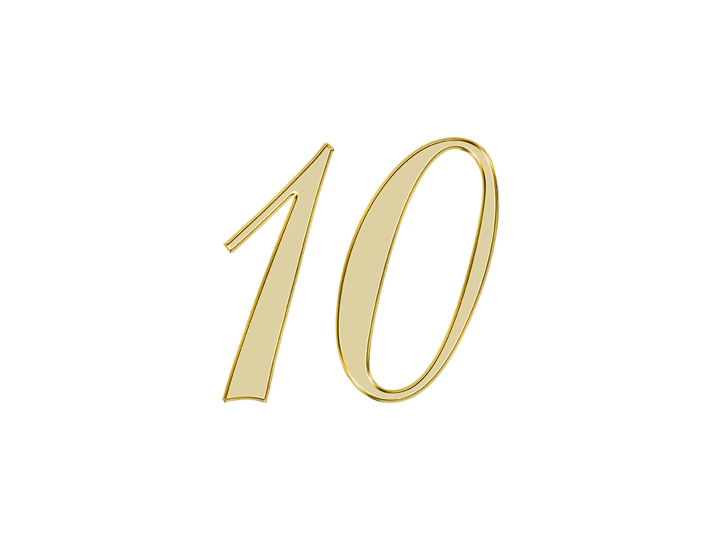 エンジェルナンバー 10