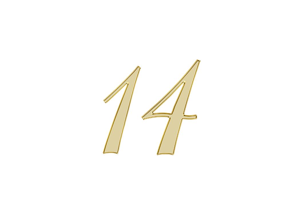 エンジェルナンバー 14