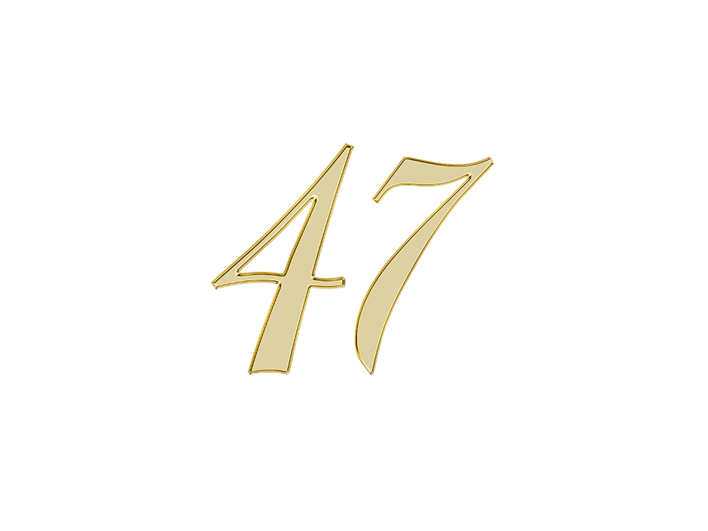 エンジェルナンバー 47