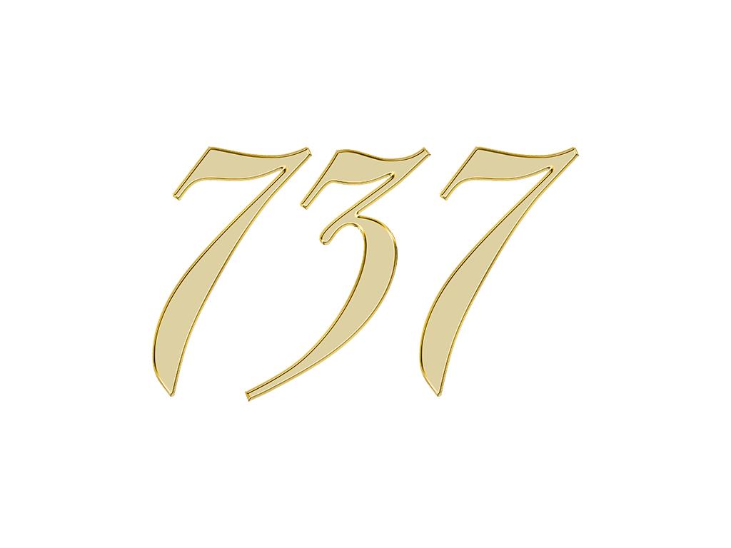 エンジェルナンバー 737