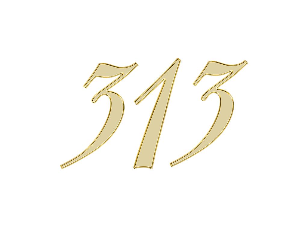 エンジェルナンバー 313