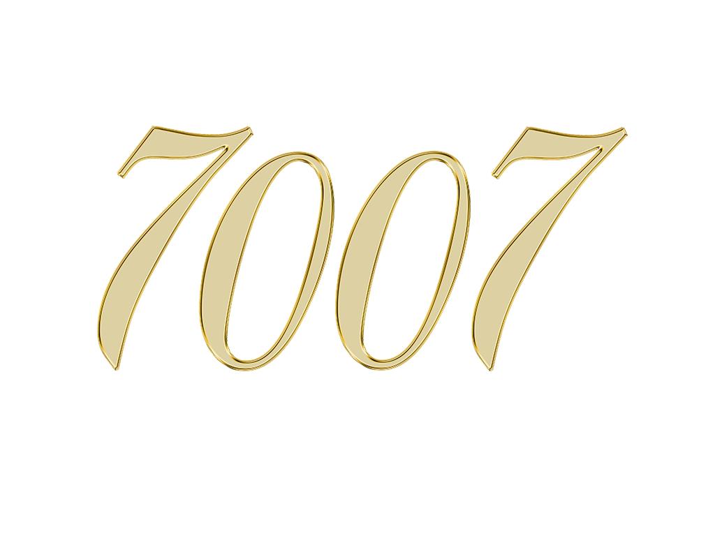 エンジェルナンバー 7007