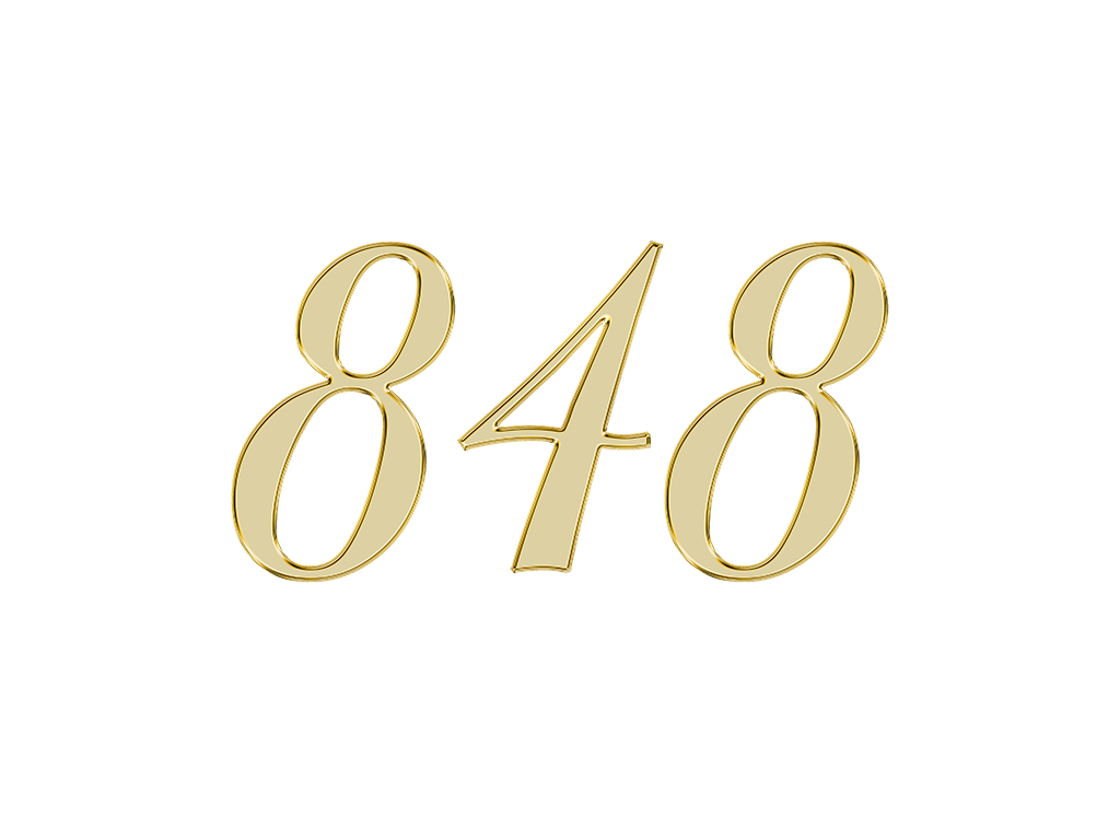 エンジェルナンバー 848