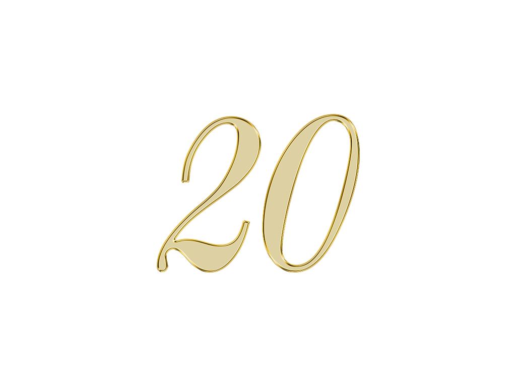 エンジェルナンバー 20