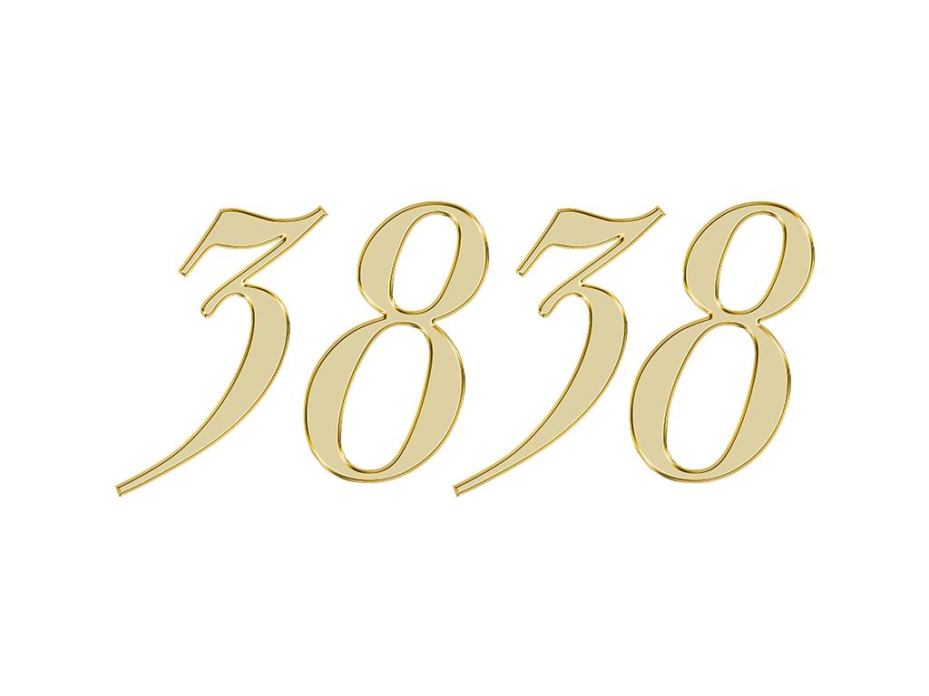エンジェルナンバー 3838