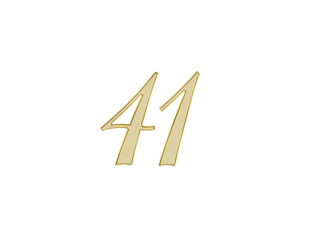エンジェルナンバー 41