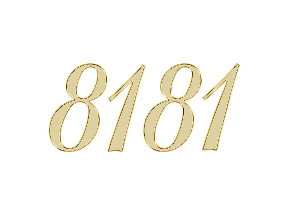 エンジェルナンバー 8181