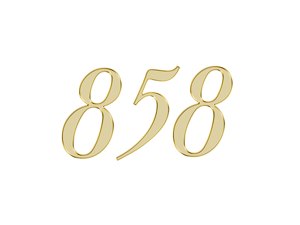 エンジェルナンバー 858