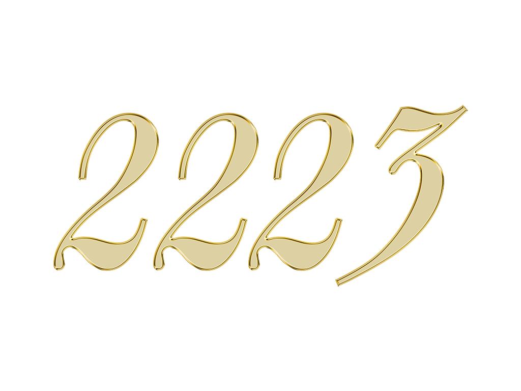 2223 エンジェルナンバー