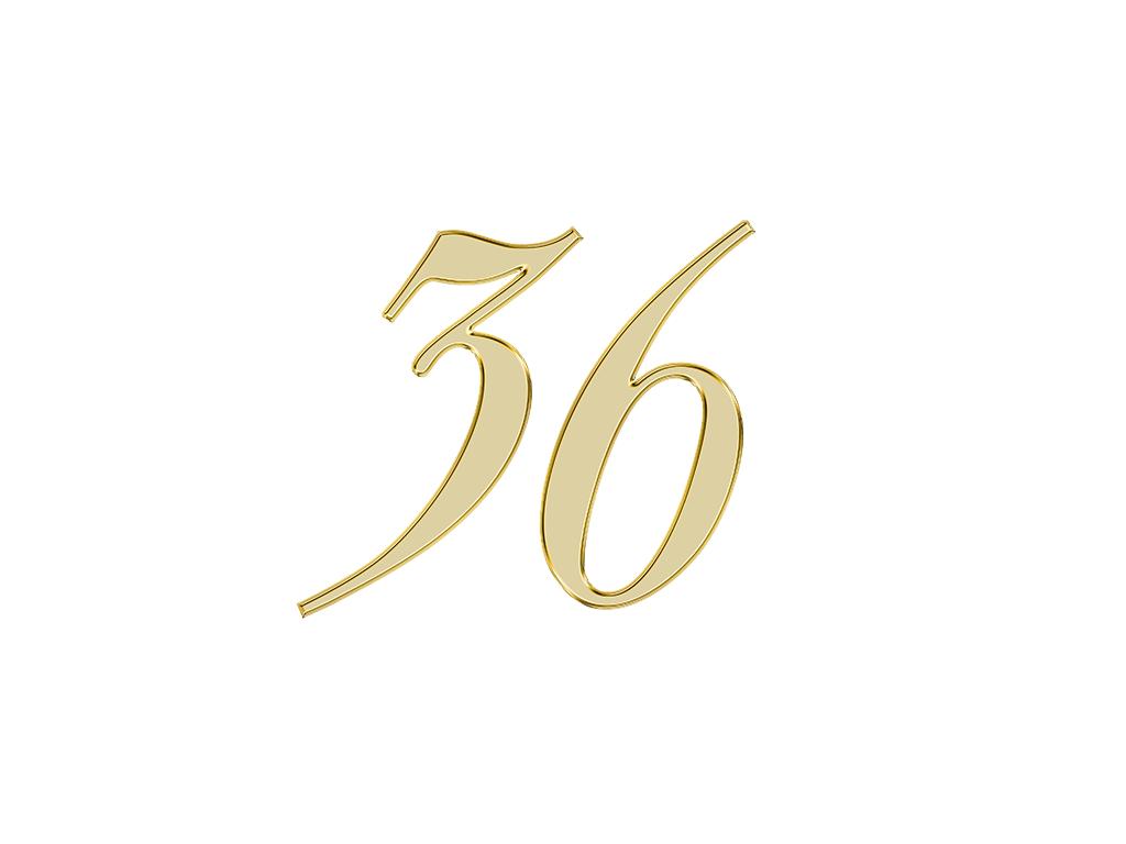 エンジェルナンバー 36