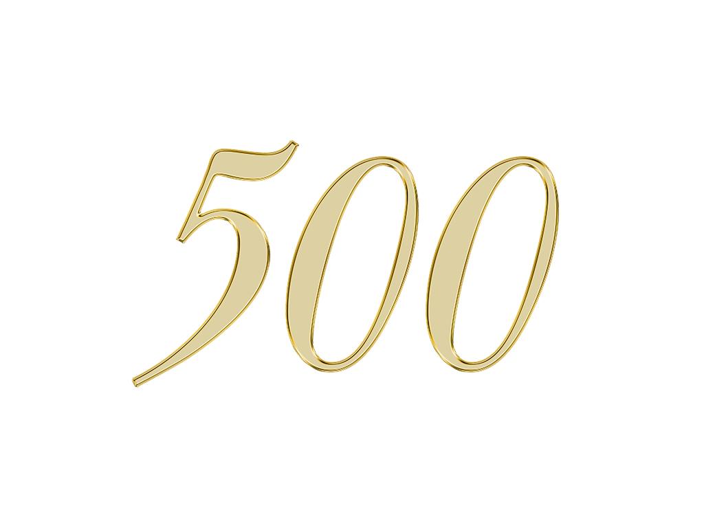 エンジェルナンバー 500