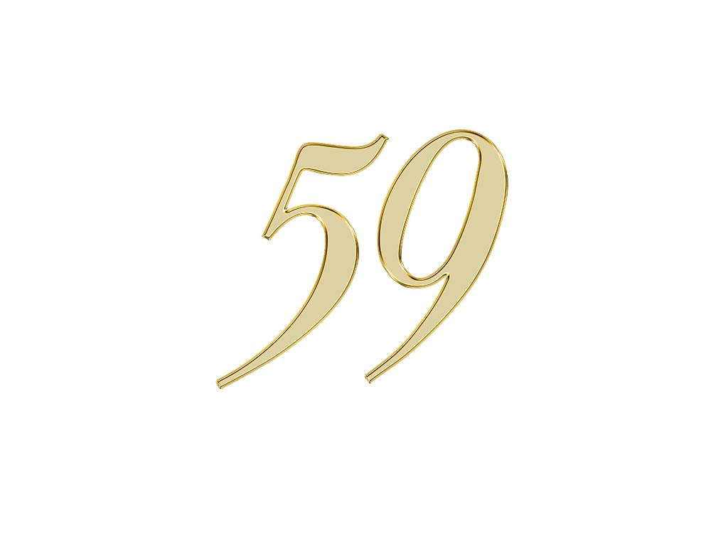 エンジェルナンバー 59