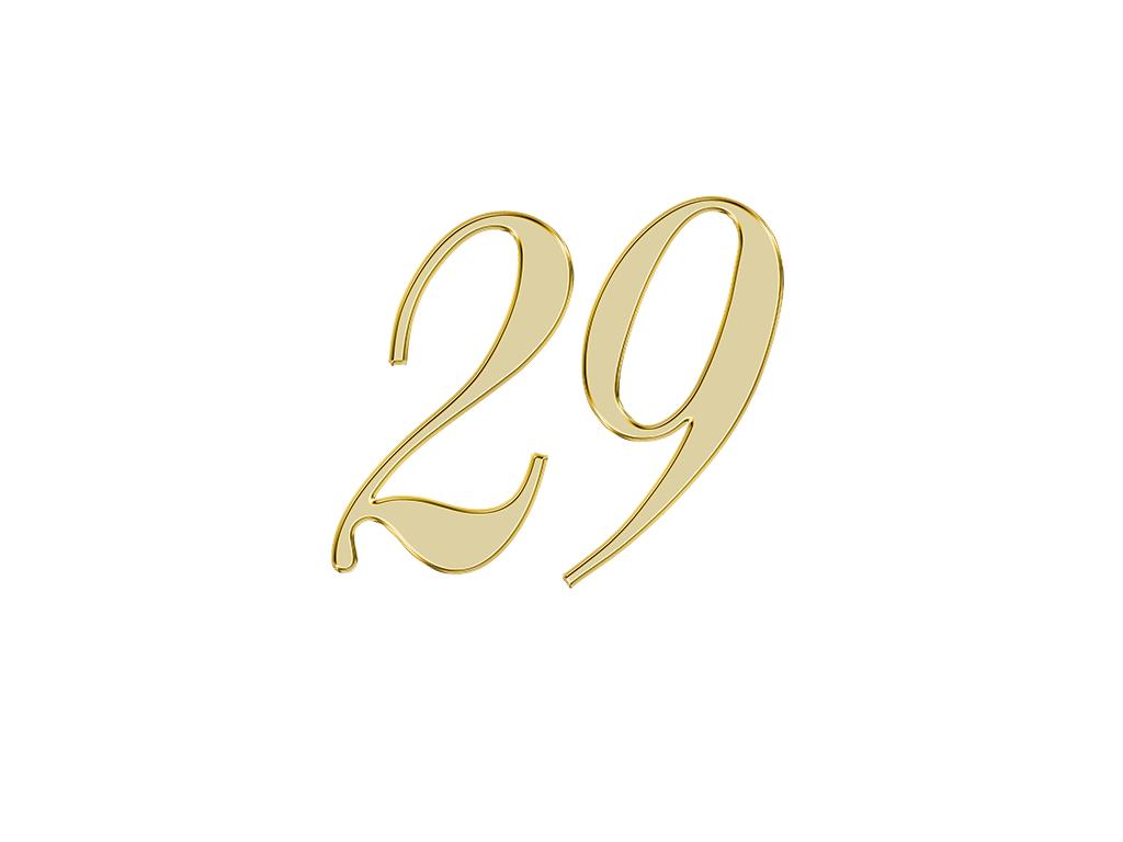 エンジェルナンバー 29