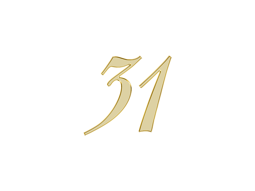 エンジェルナンバー 31