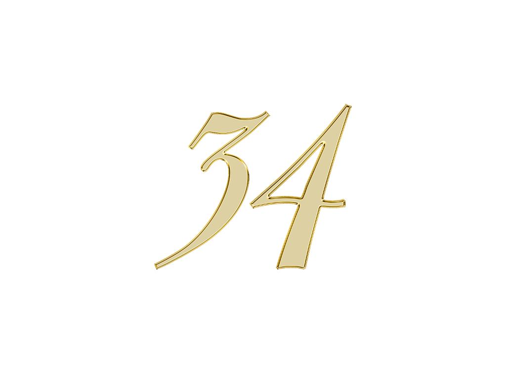 エンジェルナンバー 34
