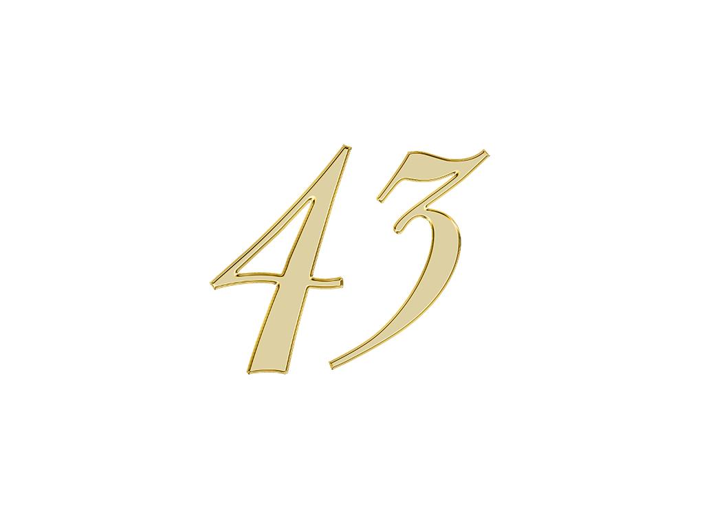エンジェルナンバー 43