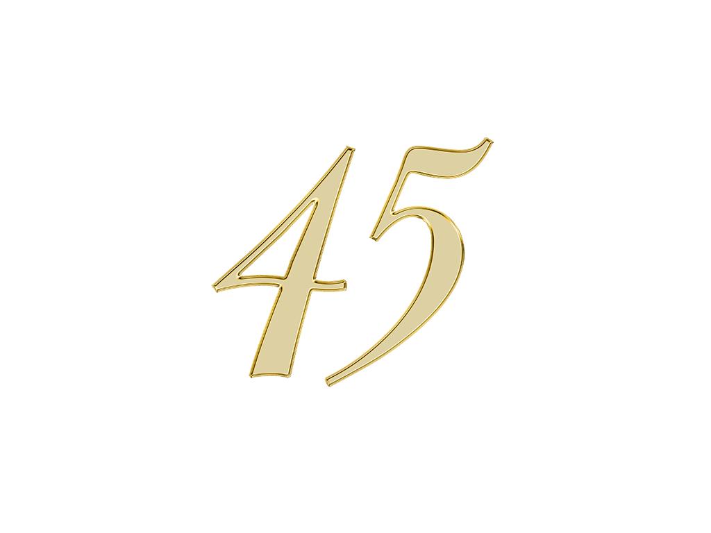 エンジェルナンバー45の意味とは?天使からのメッセージ