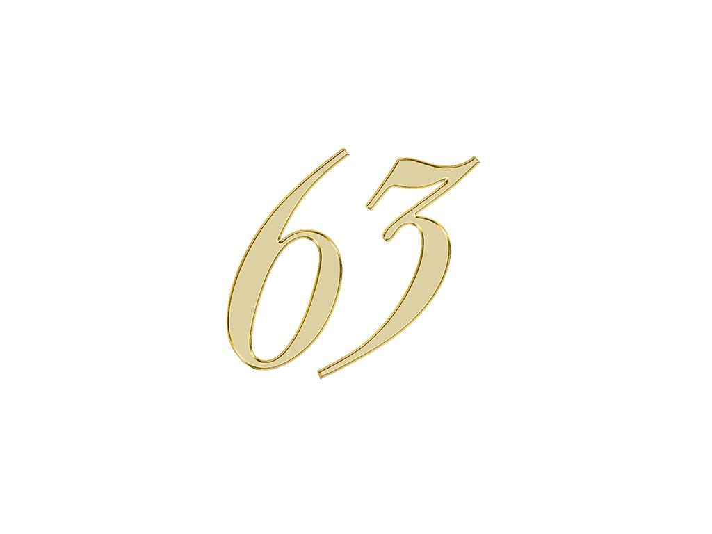 エンジェルナンバー 63
