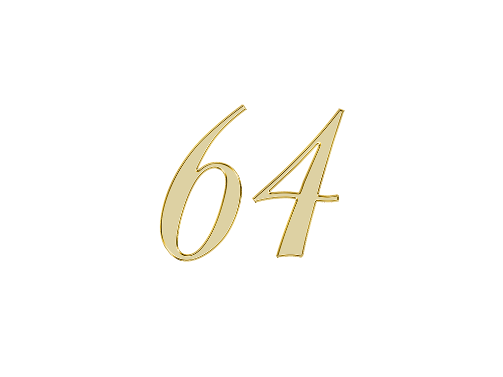 エンジェルナンバー 64