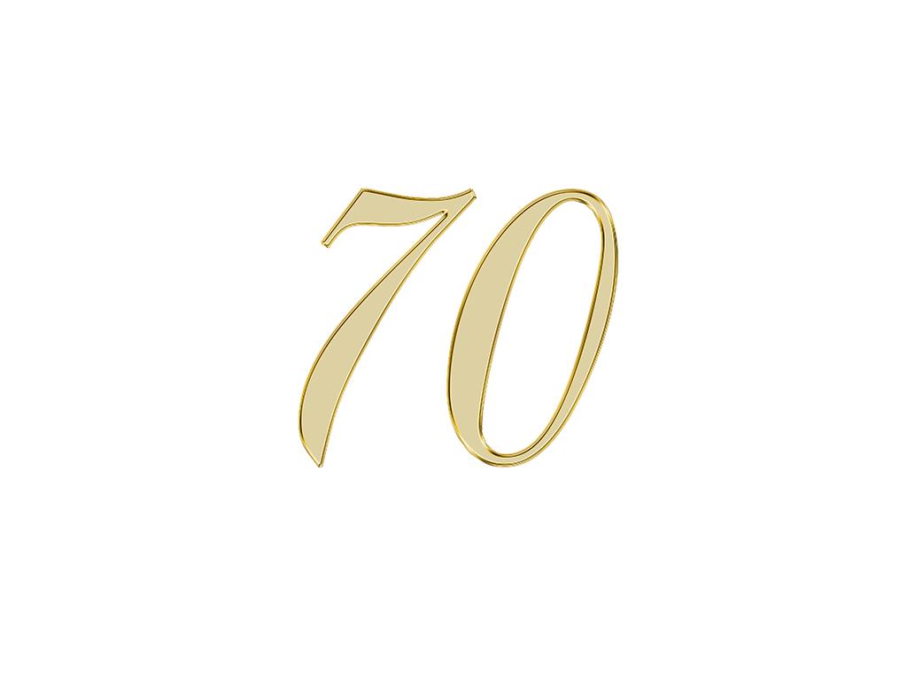 エンジェルナンバー 70