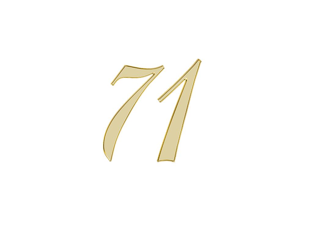 エンジェルナンバー 71