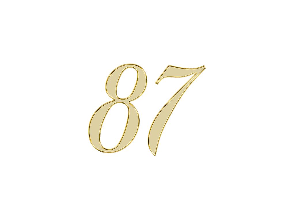 エンジェルナンバー87の意味は【さらなる豊かさへの道】