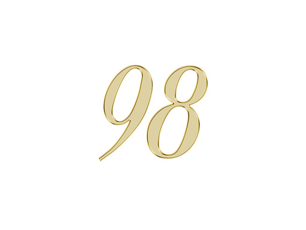 エンジェルナンバー 98