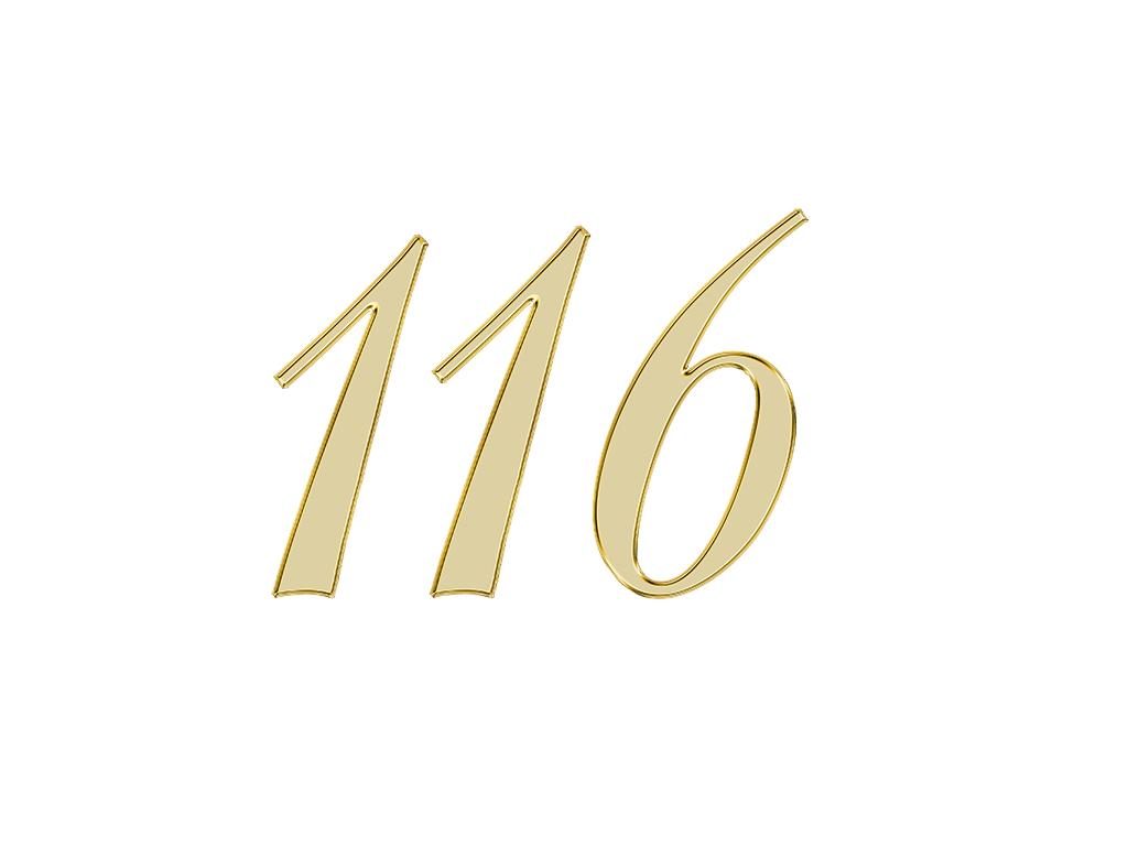 エンジェルナンバー 116
