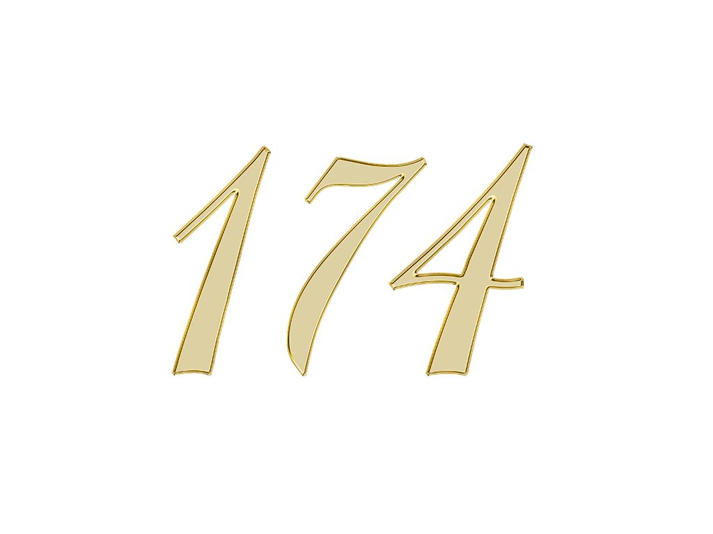 エンジェルナンバー 174