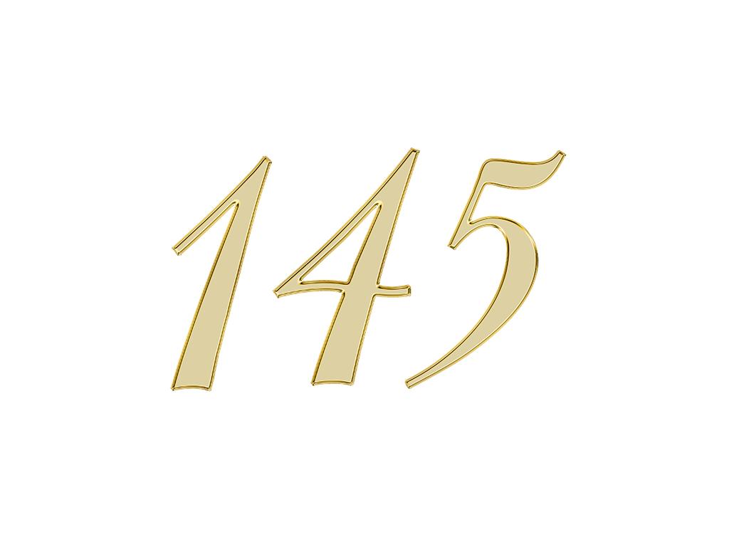 エンジェルナンバー 145