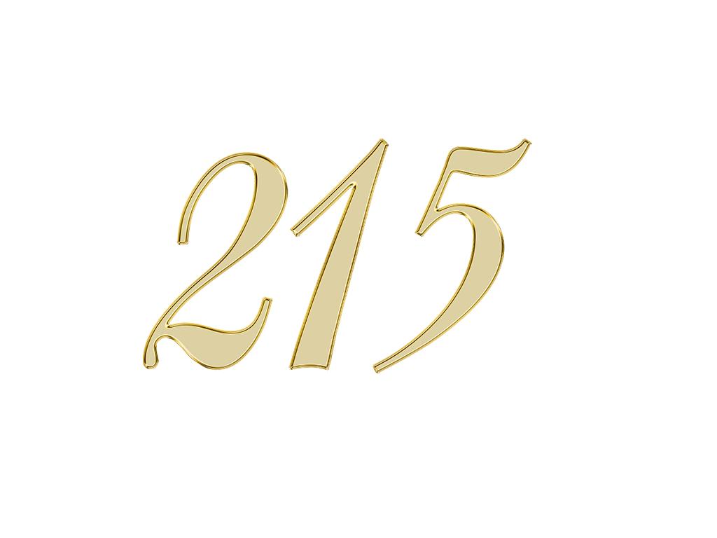 エンジェルナンバー 215