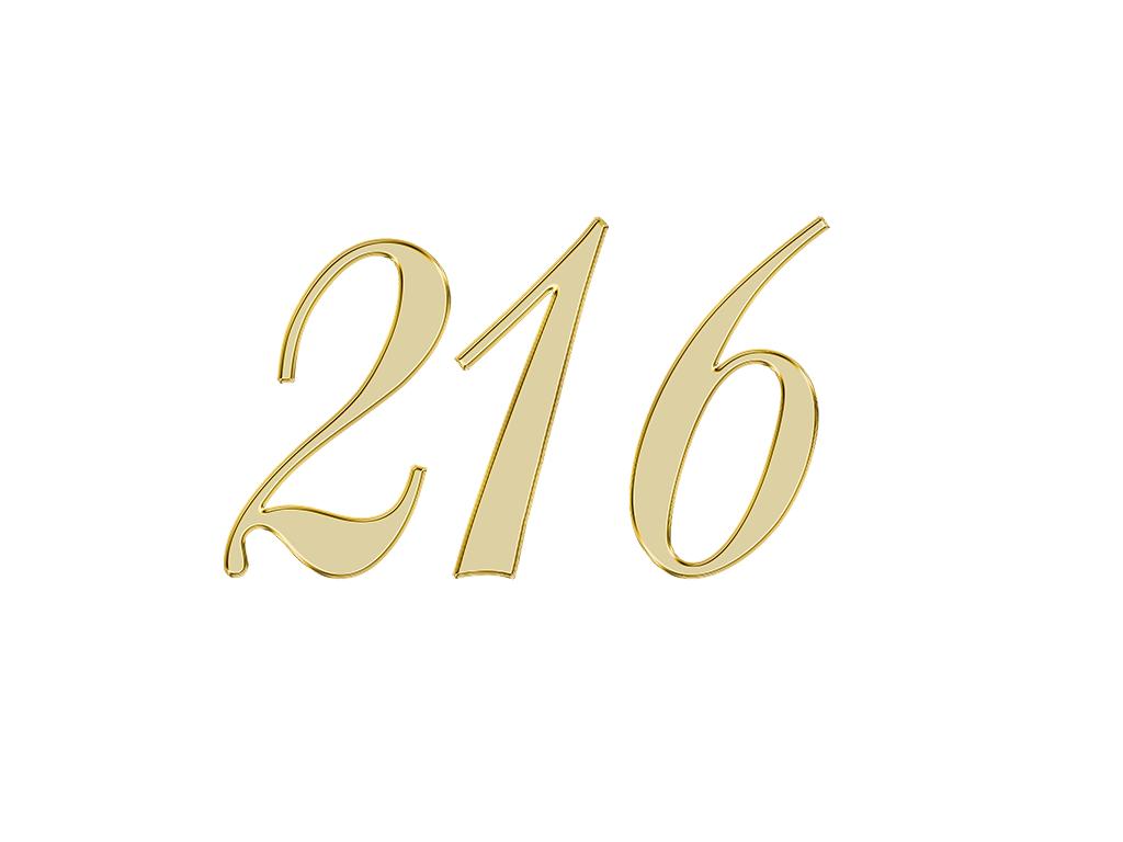 エンジェルナンバー 216