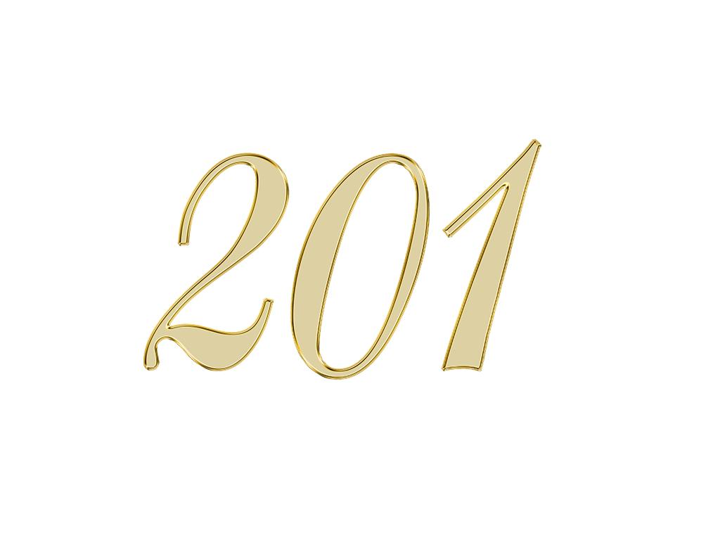 エンジェルナンバー 201