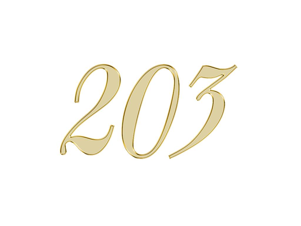 エンジェルナンバー 203
