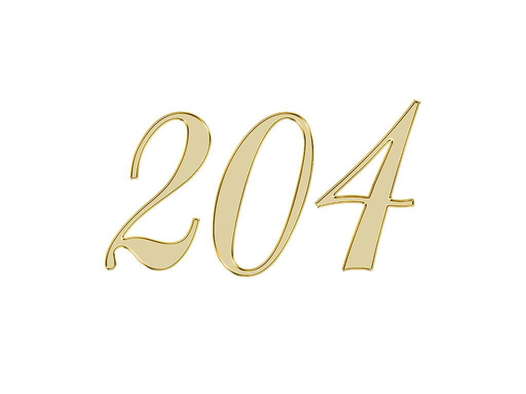 エンジェルナンバー 204