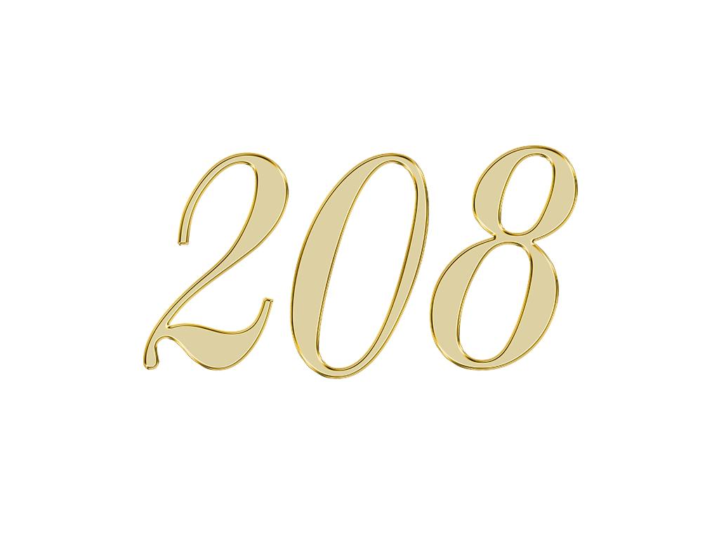 エンジェルナンバー 208